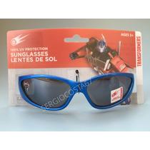 Oculos De Sol Infantil Menino Transformers C36 Frete Baixo