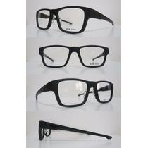 Armação Óculos De Grau Milestone Crosslink Chamfer Tag Leve