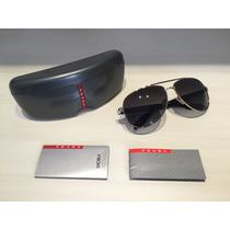 Óculos Prada Modelo Sps 53p 1bc-5w1 Tam. 62 Polarizado Novo