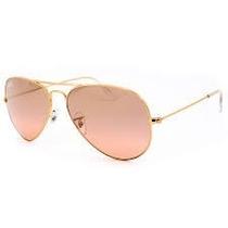 Óculos Aviador Ray Ban Feminino Masculino Rosa Azul Degrade
