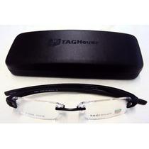 Armação Oculos De Grau Th5069 Todo Preto