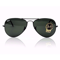 Oculos De Sol Aviador Rb3025 58mm Lente G15 Ray Ban Original