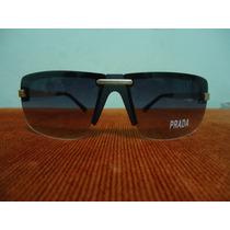 Oculos De Sol 96834 Preto Lentes Fume Degrade