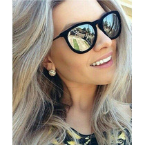 Óculos De Sol Ray Ban 4171 Erika Velvet Veludo Espelhado