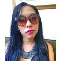 Óculos De Sol Quadrado Preto Masculino   Feminino