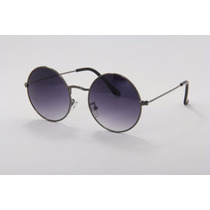 Óculos Sol Redondo Masculino Estilo Beatles Proteção Uv400