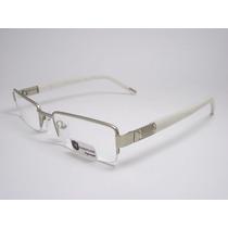 Armação De Óculos Feminino Branco Perolizado Jc1062 C1 Mj