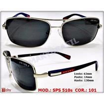 Oculos Sps510s Sol 510 Masculino Grafite Ou Prata