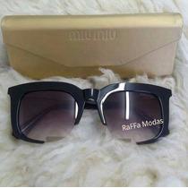Oculos De Sol Miu Miu Rasoir Varias Cores Promoção