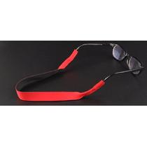Cordão Vermelho Noprene Óculos Seguro Só Encaixar Esporte