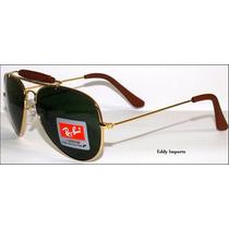 Oculos De Sol Rb Caçador 3422e3407 - Frete Grátis.58mm