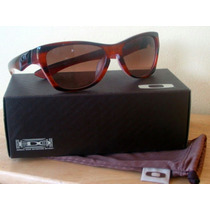 Óculos De Sol Oakley Jupiter Lx Brown Tortoise Novo