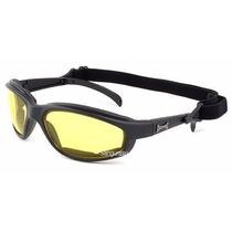 Óculos Da Marca Chopper, Lente Amarela - Direção Noturna