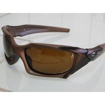 Óculos L Pitboss Polarizado 100%%% Só Marrom Promoção Natal!