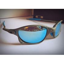 Oculos Juliet Double X Lente Ice Polarizada X-metal