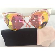Oculos De Gatinho Iridia Vintage Das Blogueiras Frete Gratis