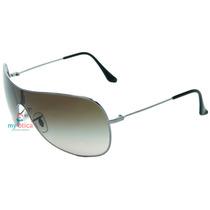 Óculos De Sol Ray Ban Rb3211 Cinza E Preto Original Com Nfe