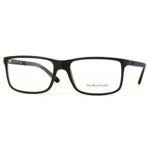 Óculos De Grau Polo Ralph Lauren Acetato Preto