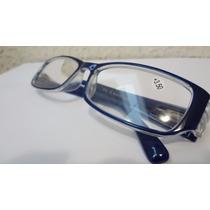 Óculos De Leitura Lente Com 3,50 Graus Positivos