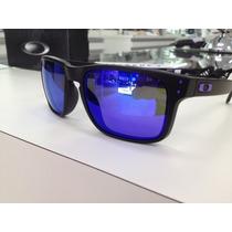 Oculos Oakley Sol Holbrook Squared Polarizado Lente Azul