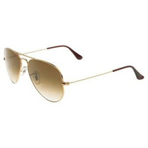 Óculos Ray Ban De Sol Estilo Aviador Rb3025 Rb3026 Degrade