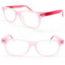 Armação Óculos Infantil Menina Rosa 6 A 13 Anos - B1096 C3