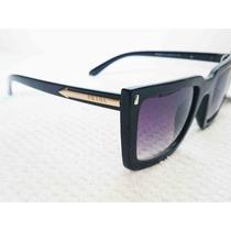 Óculos De Sol Mascara Preto