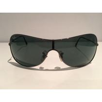 Óculos Sol Ray-ban Máscara Gunmetal Original Rb 3211-004/71