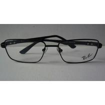 Oculos Rayban Carbono Aro Fechado Para Lentes De Grau