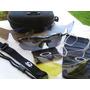 Óculos Ciclista 5 Lentes Kit Esportes Tático Todo Preto