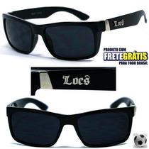 Óculos De Sol Locs La Califórnia Wayfarer Retrô-frete Grátis