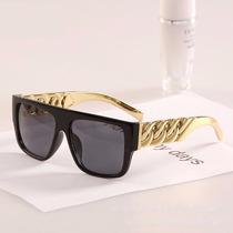 Óculos /sol Corrente Gold Tyga Rick Ross Soulja Boy Unissex