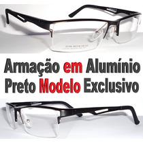 Armação Para Óculos De Grau Alumínio Antialérgica Exclusivo