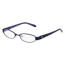 Óculos De Grau Puma Azul Pu 15357 48 Bl