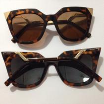 Óculos Fendi Iridia Square Cat F006/s Quadrado Gatinho