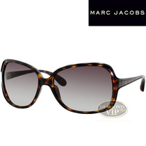 Óculos De Sol Feminino Marc Jacobs Marrom Tartaruga Original