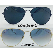 Oculos Rayban Original Compre 1 Leve 2 3025/3026 Frete Free