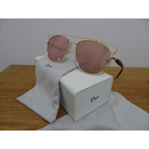 Oculos De Sol Dior Technologic Original Completo Lente Rosa