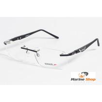 Óculos Esportivo Speedo Sem Aro Sp1225 - Hastes 360º P/ Grau