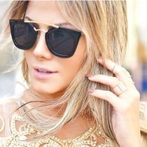 Óculos Prada- Preto- Feminino Geometric