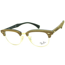 Armação Óculos De Grau Ray Ban Rb 5154m Clubmaster Madeira