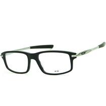 Armação Óculos Oakley Ox 1100 0253 Black Masculina Original