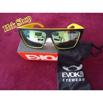 Óculos De Sol Evoke Evk (importado) Amarelo E Preto