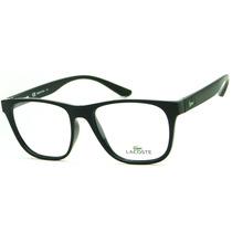 Armação Para Óculos De Grau Lacoste L3907 Masculina Retrô