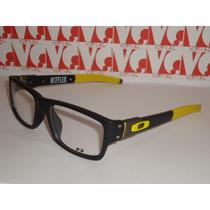 Armação Oculos De Grau Modelo Muffler Amarela E Preta Linda!
