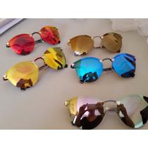Lote Atacado Oculos Sol Espelhado Fendi 5 Peças