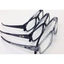 Armação Óculos De Grau Oakley Airdrop Icon Troca Cor Servo