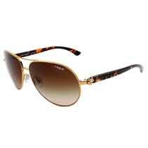 Óculos De Sol Feminino Aviador Vogue Original - Vo3968