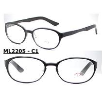 Armação Óculos De Grau Varios Modelos E Cor Unissex Aluminio