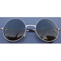 Óculos De Sol Redondo Retrô Lennon Ozzy Vintage Round